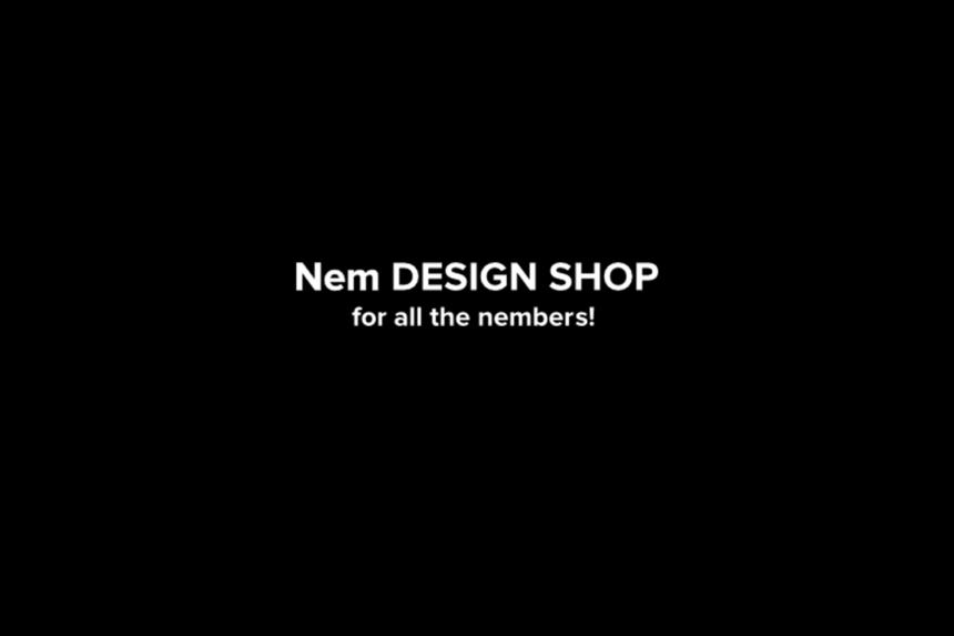 ネムデザインショップでネム決済・ネム払い